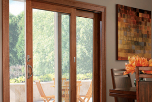 Modern House Wooden Sliding Doors